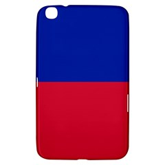 Civil Flag Of Haiti (without Coat Of Arms) Samsung Galaxy Tab 3 (8 ) T3100 Hardshell Case  by abbeyz71