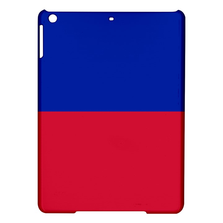 Civil Flag of Haiti (Without Coat of Arms) iPad Air Hardshell Cases