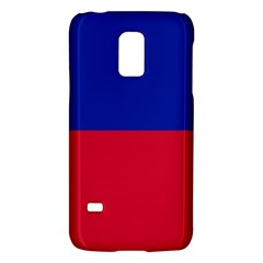 Civil Flag Of Haiti (without Coat Of Arms) Galaxy S5 Mini by abbeyz71