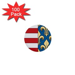 Angevins Dynasty Of Hungary Coat Of Arms 1  Mini Buttons (100 Pack)  by abbeyz71