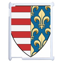 Angevins Dynasty Of Hungary Coat Of Arms Apple Ipad 2 Case (white) by abbeyz71