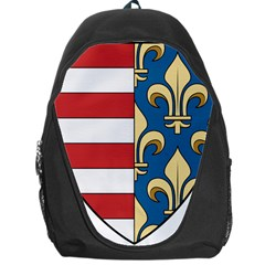Angevins Dynasty Of Hungary Coat Of Arms Backpack Bag by abbeyz71