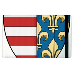 Angevins Dynasty Of Hungary Coat Of Arms Apple Ipad 2 Flip Case by abbeyz71