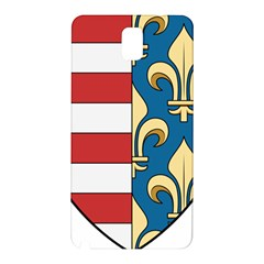 Angevins Dynasty Of Hungary Coat Of Arms Samsung Galaxy Note 3 N9005 Hardshell Back Case by abbeyz71