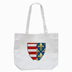 Angevins Dynasty Of Hungary Coat Of Arms Tote Bag (white) by abbeyz71