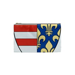 Angevins Dynasty Of Hungary Coat Of Arms Cosmetic Bag (small)  by abbeyz71