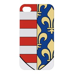 Angevins Dynasty Of Hungary Coat Of Arms Apple Iphone 4/4s Premium Hardshell Case by abbeyz71