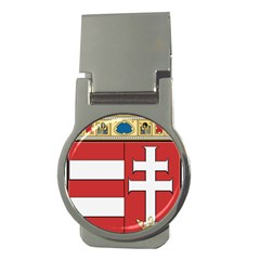 Medieval Coat Of Arms Of Hungary  Money Clips (round)  by abbeyz71