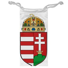 Medieval Coat Of Arms Of Hungary  Jewelry Bag by abbeyz71