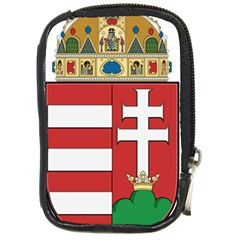 Medieval Coat Of Arms Of Hungary  Compact Camera Cases by abbeyz71