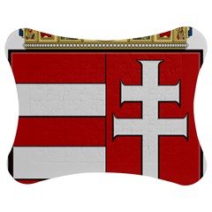 Medieval Coat Of Arms Of Hungary  Jigsaw Puzzle Photo Stand (bow) by abbeyz71