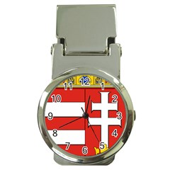 Medieval Coat Of Arms Of Hungary  Money Clip Watches by abbeyz71
