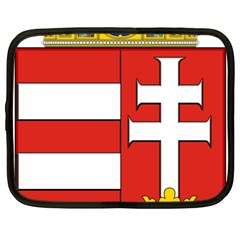 Medieval Coat Of Arms Of Hungary  Netbook Case (large) by abbeyz71
