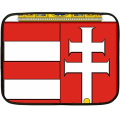 Medieval Coat Of Arms Of Hungary  Fleece Blanket (mini) by abbeyz71