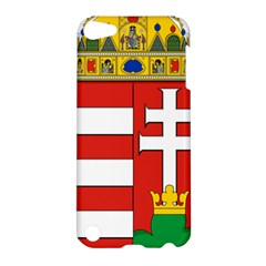 Medieval Coat Of Arms Of Hungary  Apple Ipod Touch 5 Hardshell Case by abbeyz71