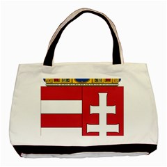 Coat Of Arms Of Hungary Basic Tote Bag by abbeyz71