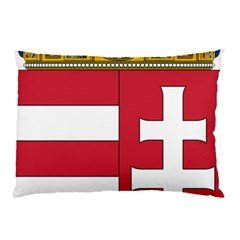 Coat Of Arms Of Hungary Pillow Case by abbeyz71