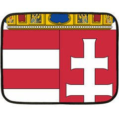 Coat Of Arms Of Hungary Double Sided Fleece Blanket (mini)  by abbeyz71