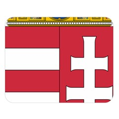 Coat Of Arms Of Hungary Double Sided Flano Blanket (large)  by abbeyz71