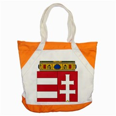 Coat Of Arms Of Hungary  Accent Tote Bag by abbeyz71