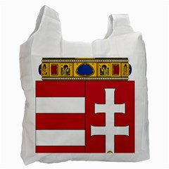 Coat Of Arms Of Hungary  Recycle Bag (two Side)  by abbeyz71
