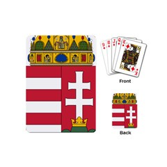 Coat Of Arms Of Hungary  Playing Cards (mini)  by abbeyz71