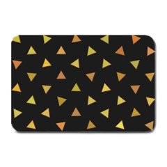 Shapes Abstract Triangles Pattern Plate Mats