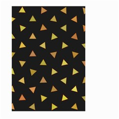 Shapes Abstract Triangles Pattern Large Garden Flag (two Sides) by Nexatart