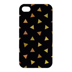 Shapes Abstract Triangles Pattern Apple Iphone 4/4s Premium Hardshell Case