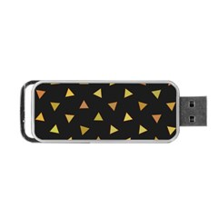 Shapes Abstract Triangles Pattern Portable Usb Flash (two Sides)
