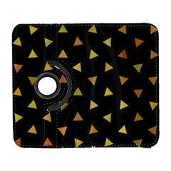Shapes Abstract Triangles Pattern Galaxy S3 (flip/folio) by Nexatart