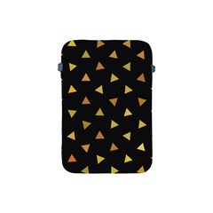 Shapes Abstract Triangles Pattern Apple Ipad Mini Protective Soft Cases by Nexatart