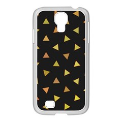 Shapes Abstract Triangles Pattern Samsung Galaxy S4 I9500/ I9505 Case (white)