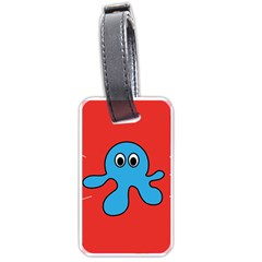Creature Forms Funny Monster Comic Luggage Tags (one Side)  by Nexatart