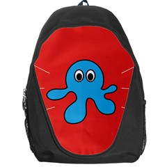 Creature Forms Funny Monster Comic Backpack Bag by Nexatart