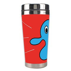 Creature Forms Funny Monster Comic Stainless Steel Travel Tumblers by Nexatart
