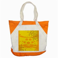 Texture Yellow Abstract Background Accent Tote Bag