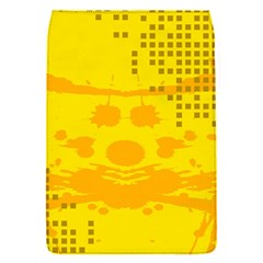 Texture Yellow Abstract Background Flap Covers (s)