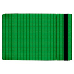 Pattern Green Background Lines Ipad Air Flip