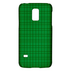 Pattern Green Background Lines Galaxy S5 Mini by Nexatart