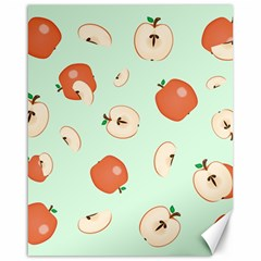 Apple Fruit Background Food Canvas 16  X 20