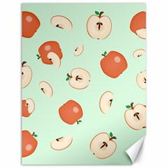 Apple Fruit Background Food Canvas 18  X 24   by Nexatart