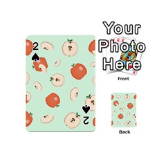Apple Fruit Background Food Playing Cards 54 (mini)  by Nexatart