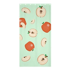 Apple Fruit Background Food Shower Curtain 36  X 72  (stall)  by Nexatart