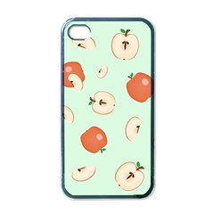 Apple Fruit Background Food Apple Iphone 4 Case (black)