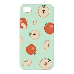 Apple Fruit Background Food Apple Iphone 4/4s Premium Hardshell Case