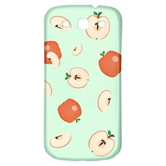 Apple Fruit Background Food Samsung Galaxy S3 S Iii Classic Hardshell Back Case by Nexatart