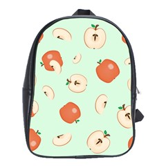 Apple Fruit Background Food School Bags (xl)  by Nexatart