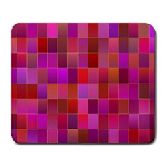 Shapes Abstract Pink Large Mousepads by Nexatart