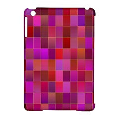 Shapes Abstract Pink Apple Ipad Mini Hardshell Case (compatible With Smart Cover) by Nexatart